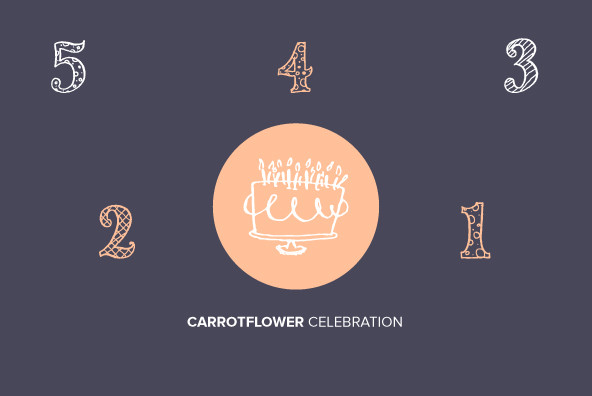 Carrotflower Celebration Icons