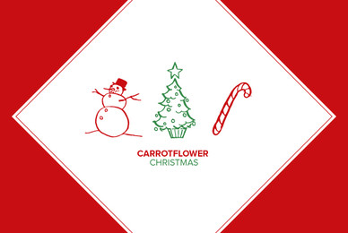Carrotflower Christmas Icons