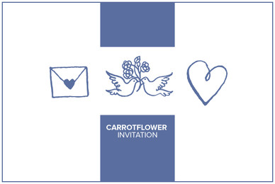 Carrotflower Invitation Icons