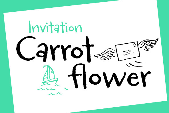 Carrotflower Stationary Kit