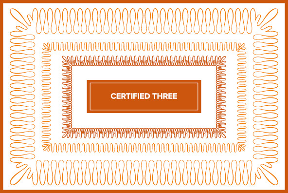Certified Three