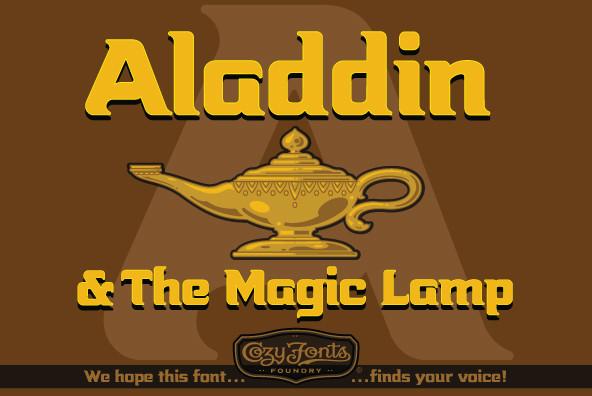 Aladdin Bold