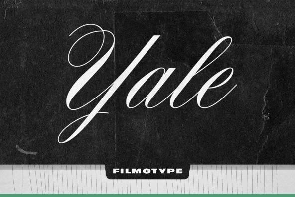 filmotype yale font