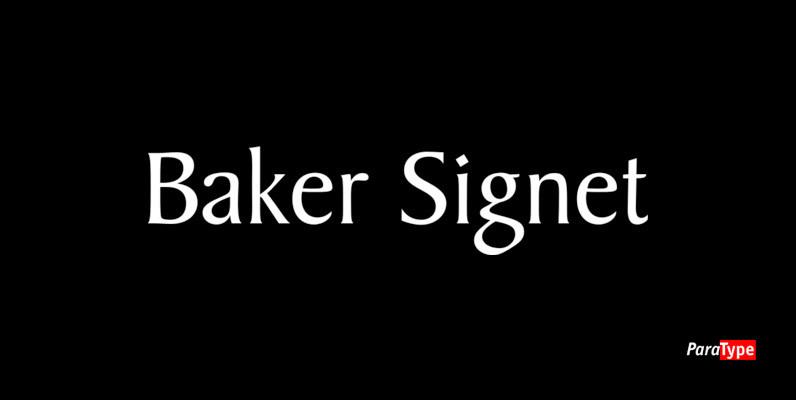 Baker Signet