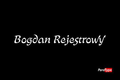 Bogdan Rejestrowy