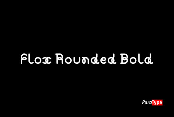 Flox Rounded Bold