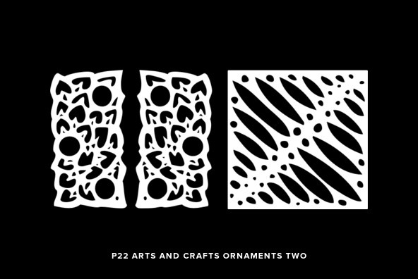 P22 Arts And Crafts Ornaments Two
