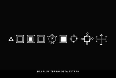 P22 FLLW Terracotta Extras
