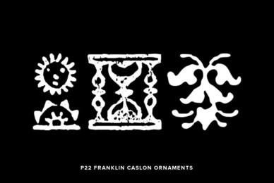 P22 Franklin Caslon Ornaments