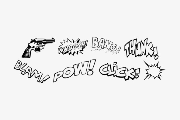 P22 Pop Art Extras - Desktop Font & WebFont - YouWorkForThem
