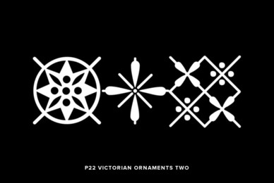 P22 Victorian Ornaments Two