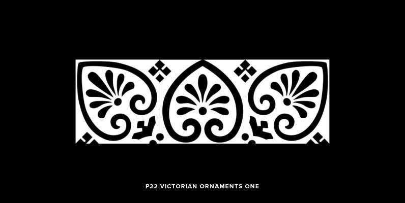 P22 Victorian Ornaments One
