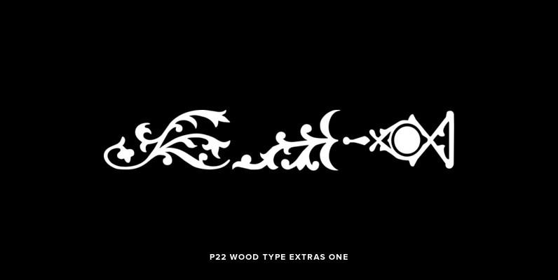 P22 Wood Type Extras One