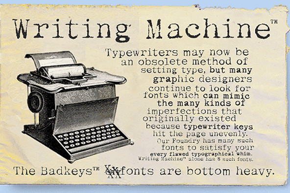 Writing Machine