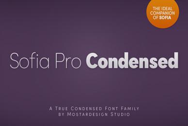Sofia Pro Condensed
