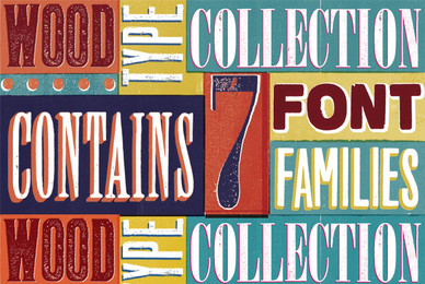 Wood Type Collection