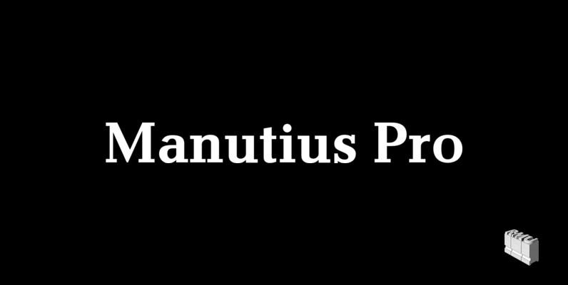 Manutius Pro