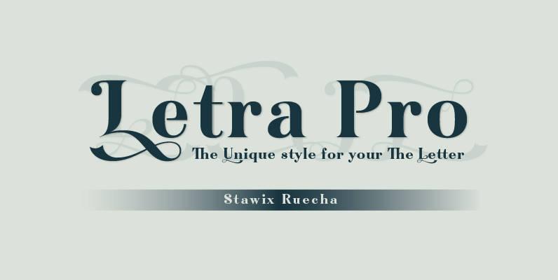 Letra Pro