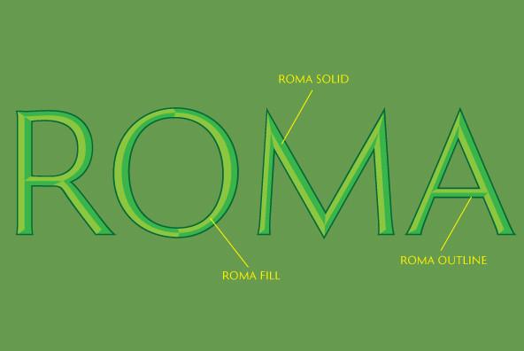 Roman Extended Lightface