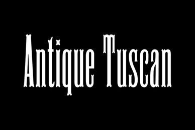 HWT Antique Tuscan No  9