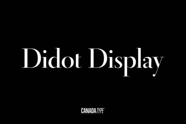 Didot Display