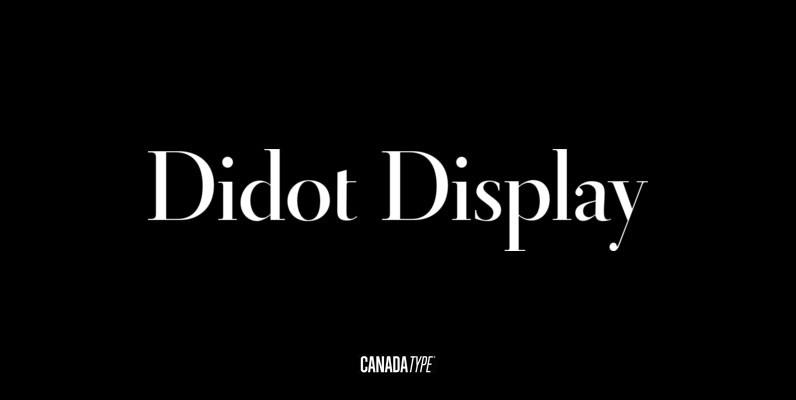 Didot Display