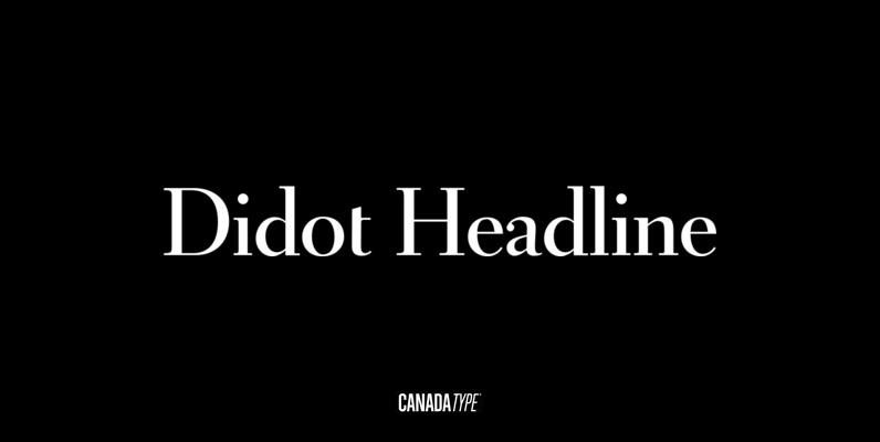 Didot Headline