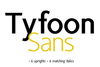 TyfoonSans