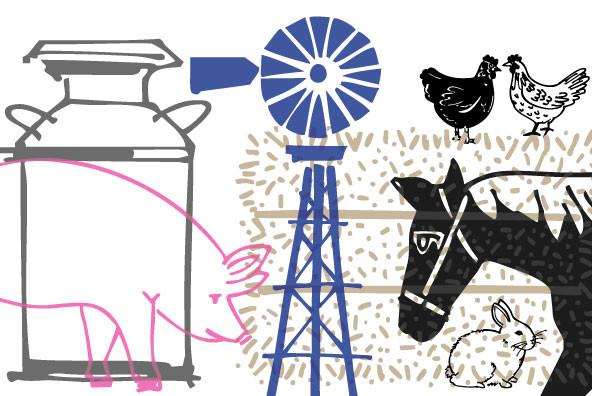 Farm Doodles
