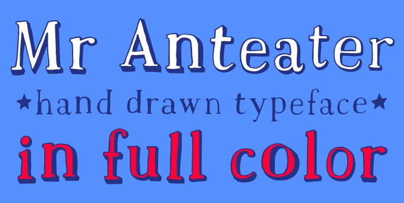 Mr Anteater