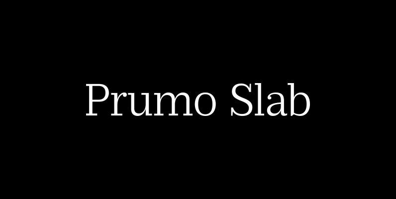 Prumo Slab