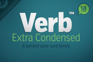 Verb Extra Condensed
