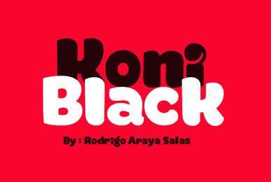 Koni Black