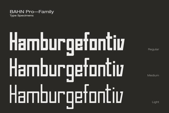 Bahn Pro Family