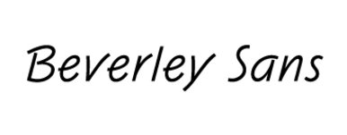Beverley Sans DT