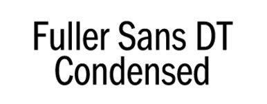 Fuller Sans DT Condensed