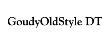 Goudy Old Style DT