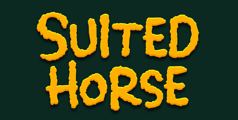 Suited Horse