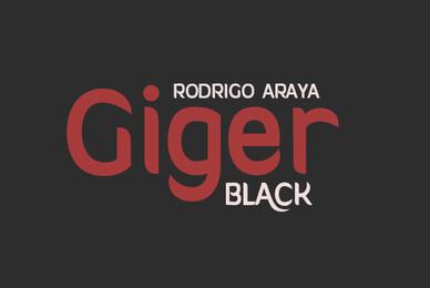 Giger Black