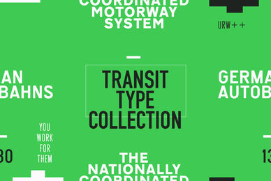 URW Transit Type Collection