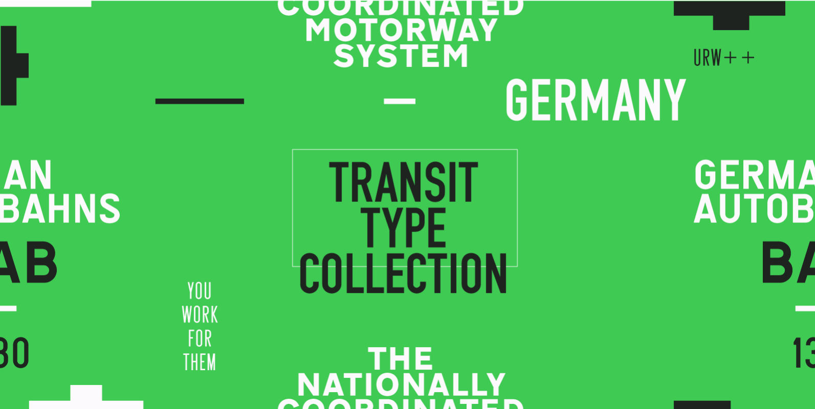 URW Transit Type Collection
