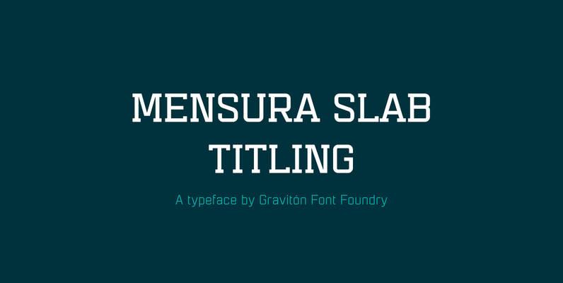 Mensura Slab Titling