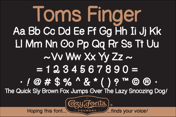 Toms Finger Family