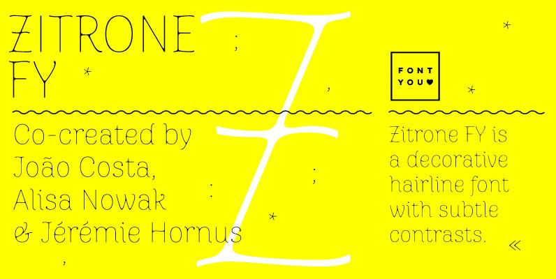 Zitrone FY