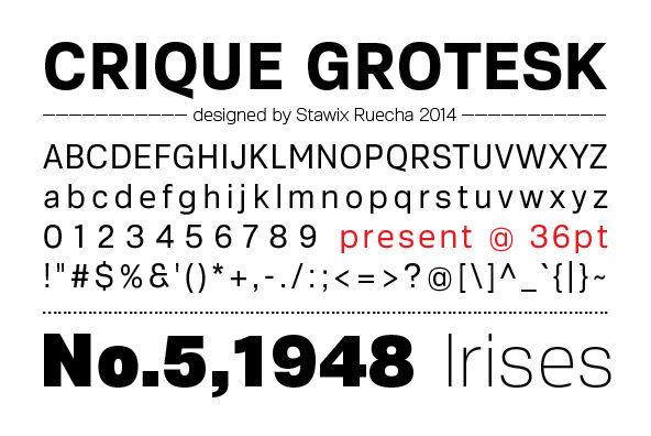Crique Grotesk