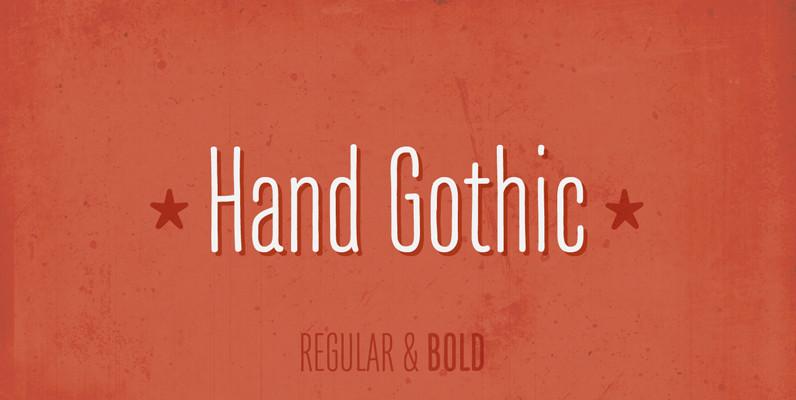 Hand Gothic