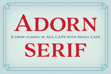 Adorn Serif