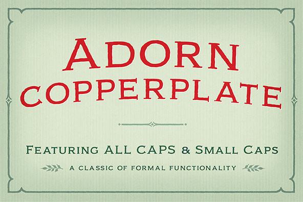 Adorn Copperplate
