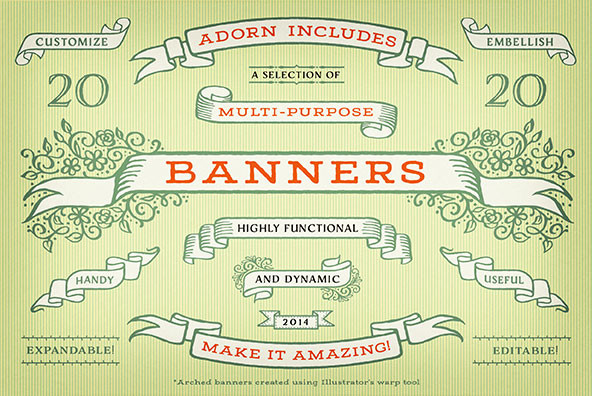 Adorn Banners
