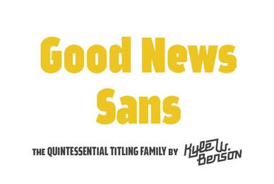 Good News Sans